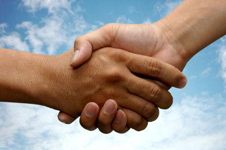 Hand Shake Portsmouth